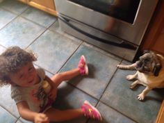 """I wouldn't let her ride the dog like a horse.""  Submitted By: Jenny A. Location: Florida, USA"