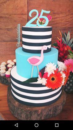 Spa Birthday, Birthday Cakes, Flamingo Party, Girl Parties, Desserts, Food, Flamingo Cake, Pastries, Meet