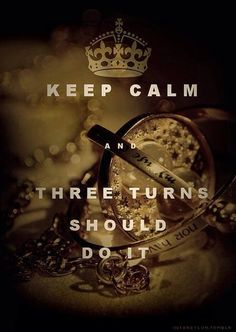 Harry Potter Keep calm and remember, you're just as sane as I am...
