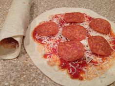 Pizza Roll-Ups- Perfect for my kids lunch box!!!