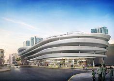 Zaha Hadid Miami parking lot rejected public architecture news USA