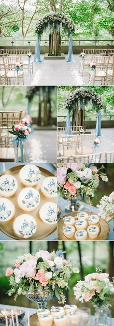 Infused from beginning to end with a romantic blue-hued color palette, Angela & Albert's wedding proves that the right design will remain timeless forever. The calming, airy blue combined with an elegant touch of nude, blush, and grey, all fit perfectly with their magical outdoor ceremony venue. The Bride translated her vision into a beautiful …
