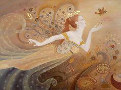 ☽O☾ The Goddess Within ☽O☾- pagan novel by Iva Kenaz - moods letting-go-again-bk-lusk Chakras, Reiki, Meditation, Earth Design, Butterfly Fairy, Thich Nhat Hanh, Pranayama, Fairy Art, Buddhism