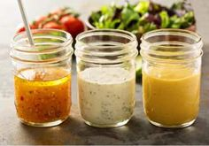 It's leafy green season, which means you need delicious dressings. Try these 5 homemade healthy salad dressing recipes to top your leafy greens. Gluten Free Salad Dressing, Salad Dressing Recipes, Salad Recipes, Vinaigrette Sans Gluten, Substitute For Rice Vinegar, Healthy Salads, Healthy Eating, Vegetables, Vegetarian Recipes