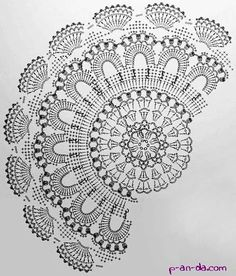 Crochet rug crochet carpet doily lace rug by eMDesignBoutique This Pin was discovered by Moz matts and rugs Motif Mandala Crochet, Crochet Doily Diagram, Crochet Doily Patterns, Thread Crochet, Filet Crochet, Crochet Designs, Crochet Stitches, Crochet Dollies, Crochet Potholders