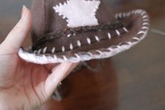 DIY cowboy hat. This is the pattern I used.