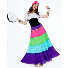 Renaissance Ladies Gypsy Costume Get up to 15% When you spend $50 at Buy Costume using Coupons and Promo Codes.