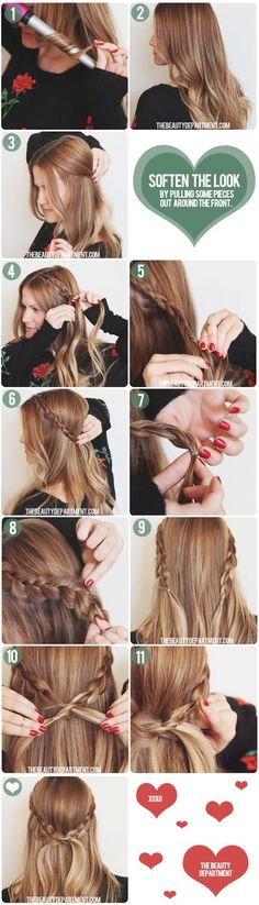 Pretty Braided Hair Tutorial