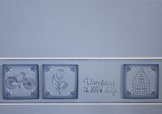Holland, Delft, Birthday Cards, Blog, How To Make, Stamping, Card Ideas, Tulips, The Nederlands