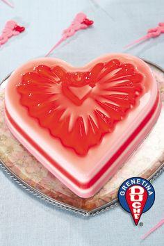 Jello Recipes, Cake Recipes, Dessert Recipes, Desserts, Jello Deserts, Foto Pastel, Jello Cake, Heart Cookies, Cupcakes