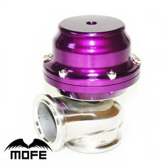 Universal 44mm Unadjustable V-band External Turbo Wastegate 8.7 & 13PSI Purple #Affiliate
