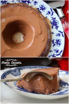Pudim de Nutella, uma sobremesa prática e deliciosa como só um pudim pode ser e com aquele sabor de chocolate de avelãs que só a nutella consegue ter! Pudim com creme firme, untuoso e sabor acen…