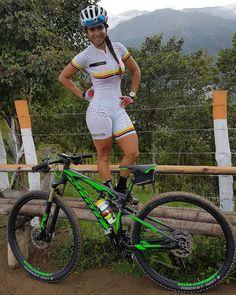 Resultado de imagen para sandra milena ospina ciclista hot