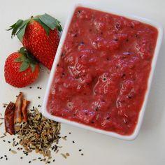 Strawberry Chutney - Valentine's Day Dinner for 6, Part III