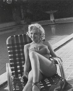 Marilyn Monroe photographed by Harold Lloyd, 1953