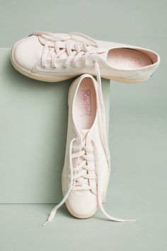 Light Pink Kick Sneakers #anthropologie #ad
