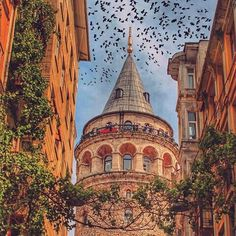 Travel Photography Inspiration Around The Worlds Istanbul City, Istanbul Travel, Istanbul Turkey, Oh The Places You'll Go, Places To Travel, Travel Around The World, Around The Worlds, Fantasy Castle, City Wallpaper