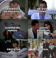 Alex Karev ❤ Séries/ Grey's Anatomy/ SEGUE LÁ JUJUBA SIMÃO