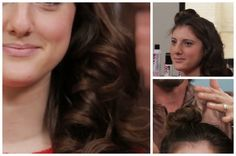Get big bouncy curls with this overnight hair tip!