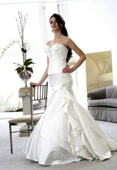 Fancy kleinfeld wedding trumpit and mermaide dresses