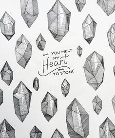 Detail #heart #stone #localsmd #typography #crystal #lettering #vscoart #vsco #follow #followme #picoftheday #pictureoftheday #popularpic #tflers #igers #igdaily #vscocam #камни #ink #inktober #black #paper #sketc #sketchbook #art #artist #graphic