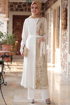 Modesty Fashion, Muslim Fashion, Hijab Fashion, Fashion Dresses, Saree Blouse Patterns, Saree Blouse Designs, Hijab Dress, Hijab Outfit, Abaya Pattern