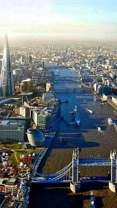 Río Tames. Londres