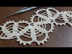Filet Crochet, Art Au Crochet, Crochet Mat, Crochet Dollies, Crochet Lace Edging, Learn To Crochet, Irish Crochet, Crochet Boarders, Crochet Motif Patterns