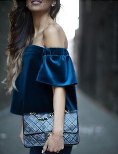 VELVET GLAM - SHOP THE TREND #howtochic #ootd #outfit