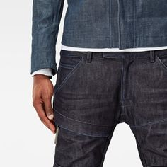 5620 G-Star Elwood Motion 3D Tapered Jeans - Zoom_look