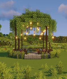 Villa Minecraft, Minecraft Garden, Minecraft Farm, Minecraft Mansion, Minecraft Cottage, Minecraft Structures, Cute Minecraft Houses, Minecraft House Tutorials, Minecraft Plans
