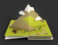 Air Pano - Creation of 9 animated pop-up book pages for the Air Pano iOS app by Anna Paschenko Pop Up Art, Arte Pop Up, Kirigami, Icon Design, Web Design, Cuento Pop Up, Pop Book, Karten Diy, Grafik Design