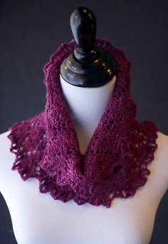 -- The Botany Bay Cowl from Three Irish Girls. I love the color. Knit Or Crochet, Crochet Scarves, Crochet Shawl, Hand Crochet, Botany Bay, Irish Girls, Diy Scarf, Knit Cowl, Afghan Crochet Patterns
