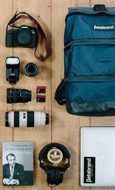 Photographer's travel essentials?