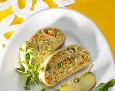 Gemüse-Kräuter-Strudel von Thermomix Rezeptentwicklung auf www.rezeptwelt.de, der Thermomix ® Community