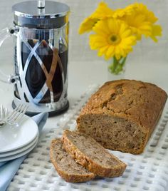Pear and Walnut Bread | 17 Gluten-Free Quick Breads That Will Warm Your Heart