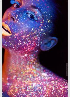 Neon glitter