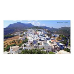 Kythira town – Kythira Custom Photo Card