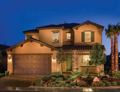 William Lyon Homes The Serenity Ridge Community Located In Las Vegas
