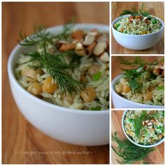 A Little Bit Crunchy A Little Bit Rock and Roll: Orzo with Chickpeas, Lemon, and Dill
