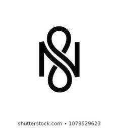 N infinity vector letter G Logo Design, Monogram Design, Monogram Logo, Lettering Design, N Letter Design, Name Design, 3 Letter Logo, Infinite Logo, Symbole Tattoo