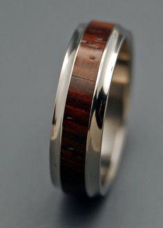 wooden wedding rings