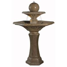 Kenroy Home 50325DT Provence Outdoor Fountain