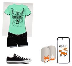 """Fox"" by jamie2005 ❤ liked on Polyvore featuring interior, interiors, interior design, home, home decor, interior decorating, Dex, Converse and CellPowerCases"
