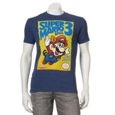 Men's+Nintendo+Super+Mario+Bros.+3+Tee