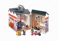 Atelier de chantier transportable