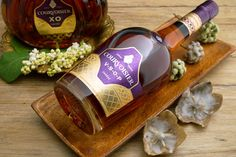 At the Toast of Paris International Cocktail Competition Courvoisier 2016. All cocktails were mixed with Courvoisier VSOP