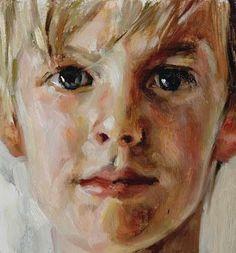 Head of a Boy by Julian Merrow-Smith