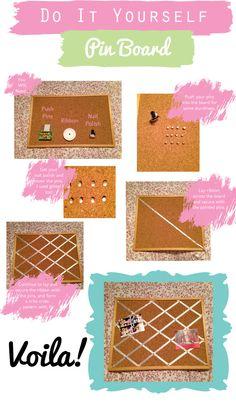 DIY: Pin Board