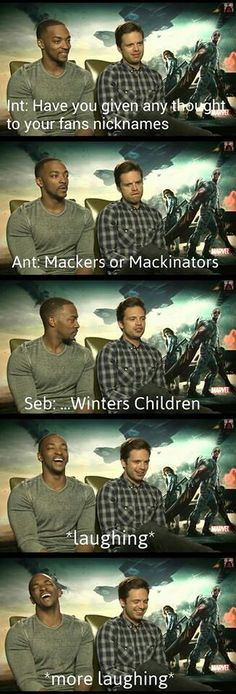 And from that day his fandom gets a name...AND I AM WINTERS CHILD!<--- same